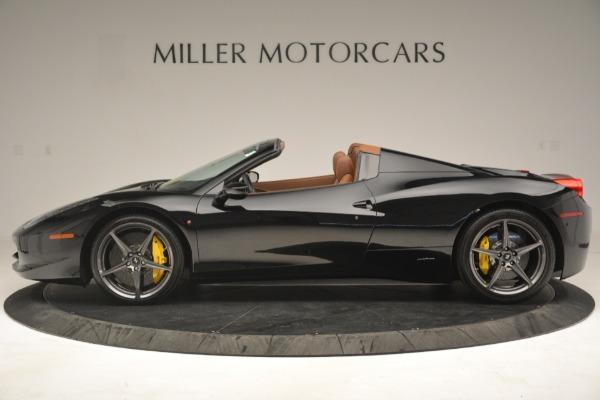 Used 2013 Ferrari 458 Spider for sale Sold at Bugatti of Greenwich in Greenwich CT 06830 3