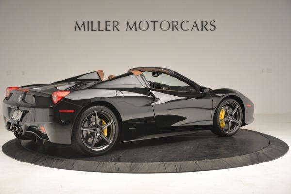 Used 2013 Ferrari 458 Spider for sale Sold at Bugatti of Greenwich in Greenwich CT 06830 8