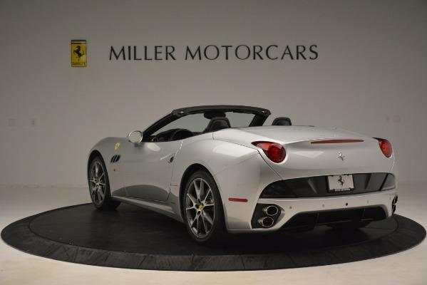 Used 2012 Ferrari California for sale Sold at Bugatti of Greenwich in Greenwich CT 06830 5