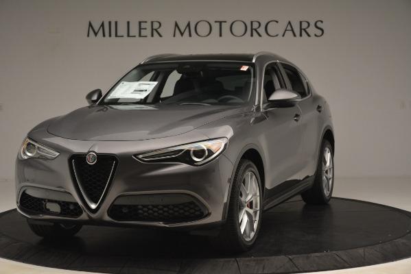 New 2019 Alfa Romeo Stelvio Ti Lusso Q4 for sale Sold at Bugatti of Greenwich in Greenwich CT 06830 1