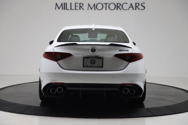 New 2019 Alfa Romeo Giulia Quadrifoglio for sale Sold at Bugatti of Greenwich in Greenwich CT 06830 6