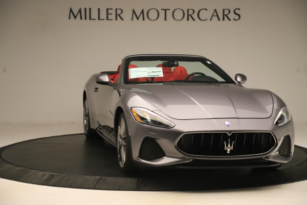 New 2018 Maserati GranTurismo Sport Convertible for sale $159,740 at Bugatti of Greenwich in Greenwich CT 06830 11