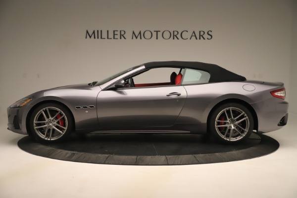 New 2018 Maserati GranTurismo Sport Convertible for sale $159,740 at Bugatti of Greenwich in Greenwich CT 06830 14