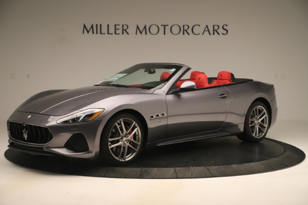 New 2018 Maserati GranTurismo Sport Convertible for sale $159,740 at Bugatti of Greenwich in Greenwich CT 06830 2