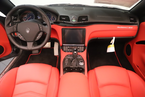 New 2018 Maserati GranTurismo Sport Convertible for sale $159,740 at Bugatti of Greenwich in Greenwich CT 06830 22