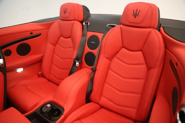 New 2018 Maserati GranTurismo Sport Convertible for sale $159,740 at Bugatti of Greenwich in Greenwich CT 06830 24