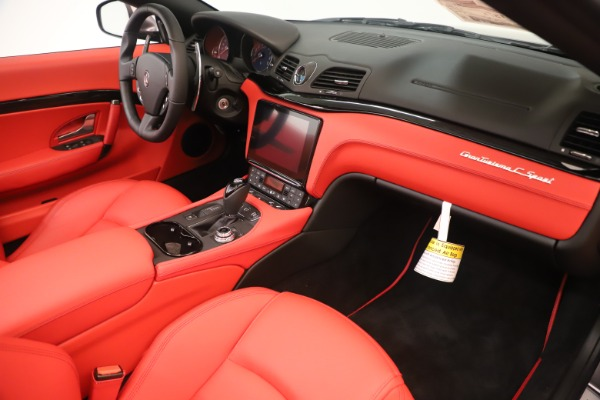 New 2018 Maserati GranTurismo Sport Convertible for sale $159,740 at Bugatti of Greenwich in Greenwich CT 06830 26