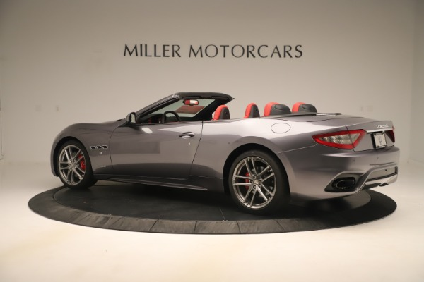 New 2018 Maserati GranTurismo Sport Convertible for sale $159,740 at Bugatti of Greenwich in Greenwich CT 06830 4