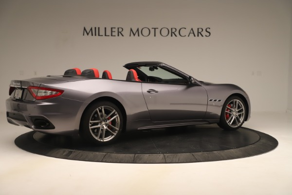 New 2018 Maserati GranTurismo Sport Convertible for sale $159,740 at Bugatti of Greenwich in Greenwich CT 06830 8