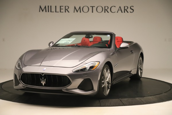 New 2018 Maserati GranTurismo Sport Convertible for sale $159,740 at Bugatti of Greenwich in Greenwich CT 06830 1
