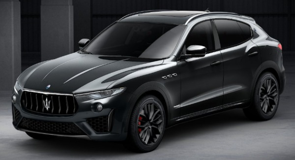 New 2019 Maserati Levante SQ4 GranSport Nerissimo for sale Sold at Bugatti of Greenwich in Greenwich CT 06830 1