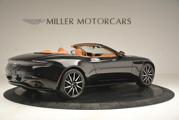 New 2019 Aston Martin DB11 V8 Convertible for sale Sold at Bugatti of Greenwich in Greenwich CT 06830 8