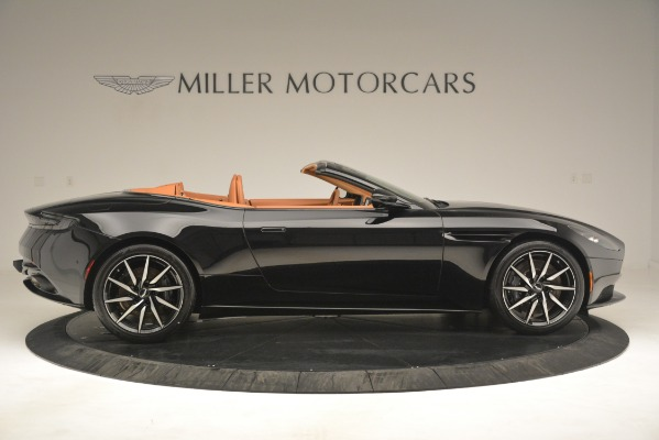 New 2019 Aston Martin DB11 V8 Convertible for sale Sold at Bugatti of Greenwich in Greenwich CT 06830 9