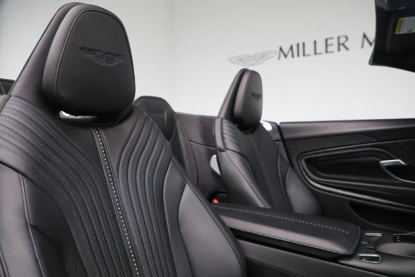 New 2019 Aston Martin DB11 V8 Convertible for sale Sold at Bugatti of Greenwich in Greenwich CT 06830 23