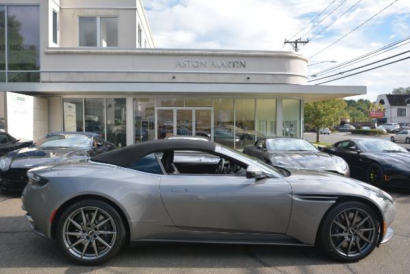 New 2019 Aston Martin DB11 V8 Convertible for sale Sold at Bugatti of Greenwich in Greenwich CT 06830 27