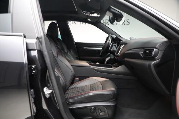 New 2019 Maserati Levante GTS for sale $134,005 at Bugatti of Greenwich in Greenwich CT 06830 18