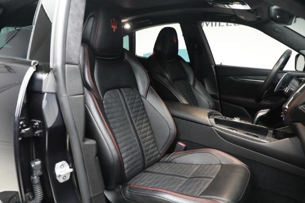 New 2019 Maserati Levante GTS for sale $134,005 at Bugatti of Greenwich in Greenwich CT 06830 19