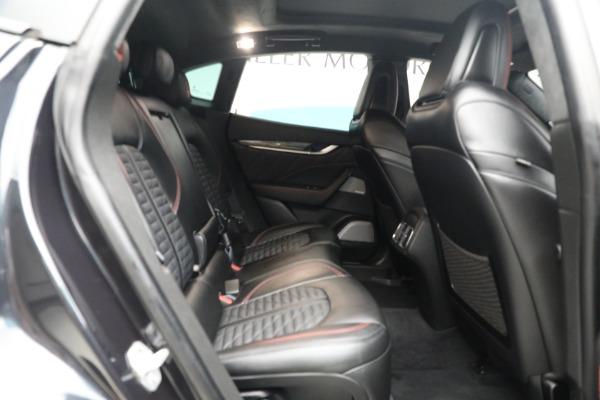 New 2019 Maserati Levante GTS for sale $134,005 at Bugatti of Greenwich in Greenwich CT 06830 20