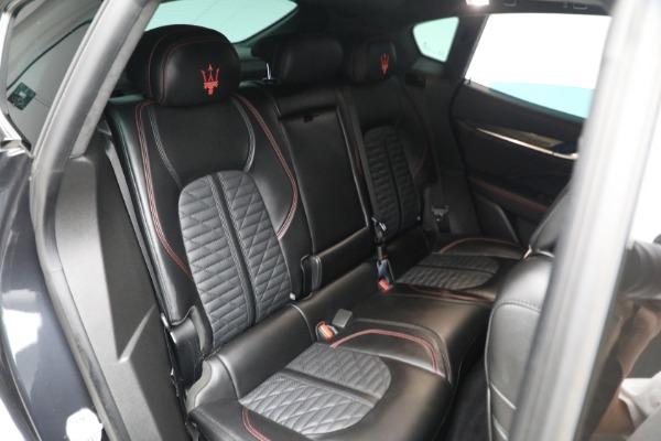 New 2019 Maserati Levante GTS for sale $134,005 at Bugatti of Greenwich in Greenwich CT 06830 21