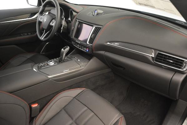 New 2019 Maserati Levante SQ4 GranSport Nerissimo for sale Sold at Bugatti of Greenwich in Greenwich CT 06830 22