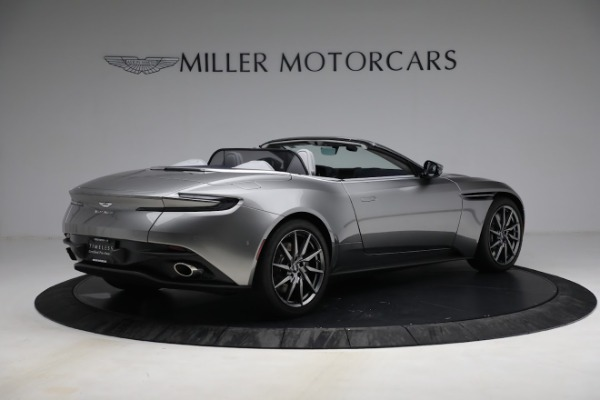 New 2019 Aston Martin DB11 V8 for sale Sold at Bugatti of Greenwich in Greenwich CT 06830 8