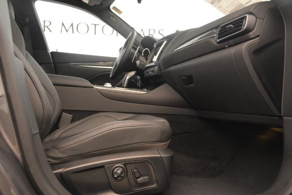 New 2019 Maserati Levante S Q4 GranSport for sale $104,840 at Bugatti of Greenwich in Greenwich CT 06830 23