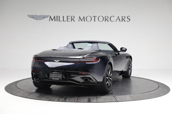 New 2019 Aston Martin DB11 V8 Convertible for sale Sold at Bugatti of Greenwich in Greenwich CT 06830 6
