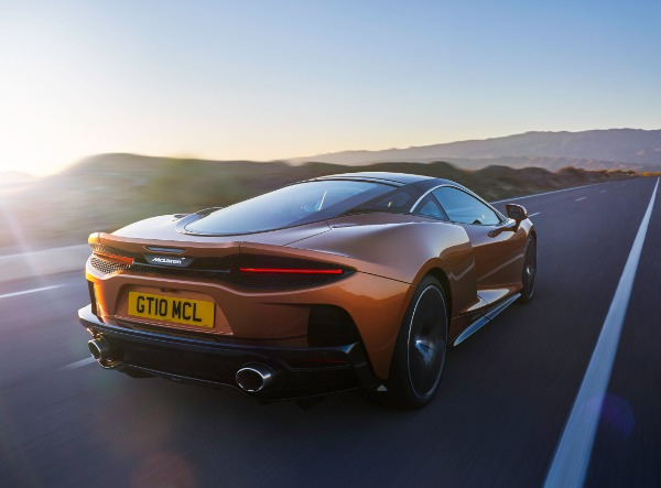 New 2020 McLaren GT Coupe for sale Call for price at Bugatti of Greenwich in Greenwich CT 06830 2