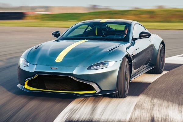 New 2020 Aston Martin Vantage AMR Coupe for sale Sold at Bugatti of Greenwich in Greenwich CT 06830 1