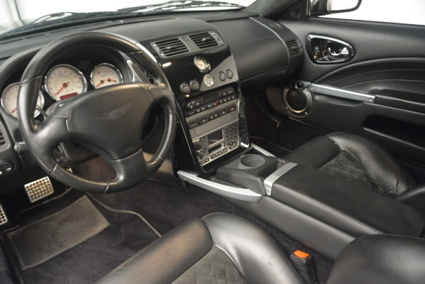 Used 2004 Aston Martin V12 Vanquish for sale Sold at Bugatti of Greenwich in Greenwich CT 06830 11
