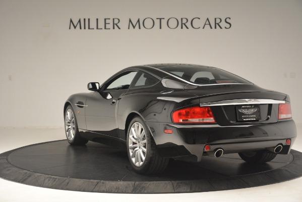 Used 2004 Aston Martin V12 Vanquish for sale Sold at Bugatti of Greenwich in Greenwich CT 06830 3