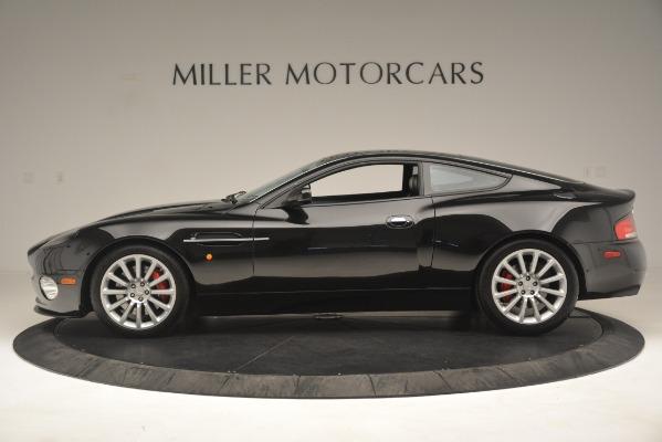 Used 2004 Aston Martin V12 Vanquish for sale Sold at Bugatti of Greenwich in Greenwich CT 06830 4