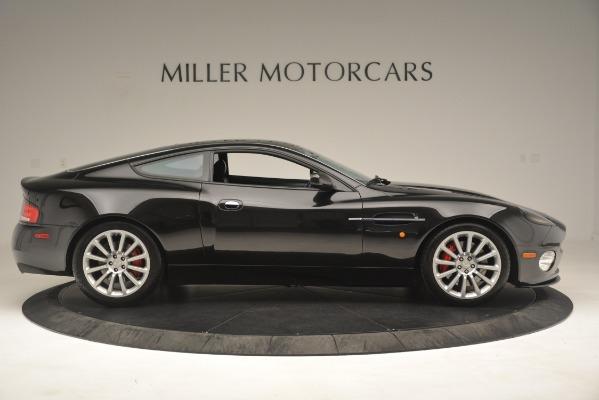 Used 2004 Aston Martin V12 Vanquish for sale Sold at Bugatti of Greenwich in Greenwich CT 06830 7