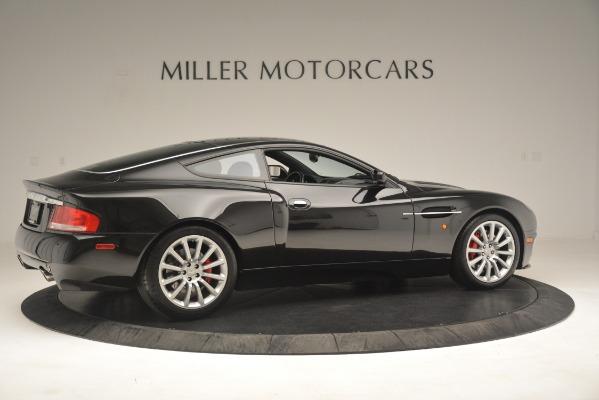 Used 2004 Aston Martin V12 Vanquish for sale Sold at Bugatti of Greenwich in Greenwich CT 06830 8