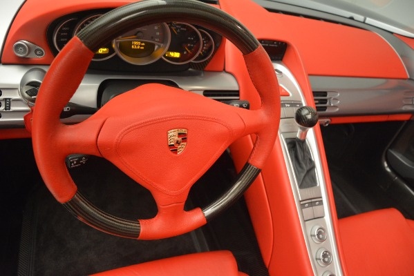 Used 2005 Porsche Carrera GT for sale Sold at Bugatti of Greenwich in Greenwich CT 06830 27
