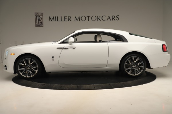 New 2019 Rolls-Royce Wraith for sale $391,000 at Bugatti of Greenwich in Greenwich CT 06830 3