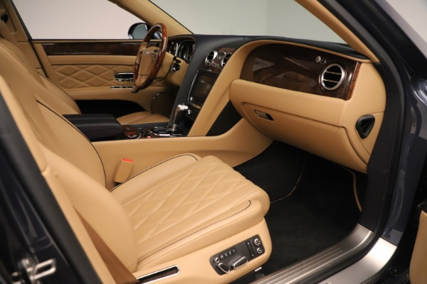 Used 2016 Bentley Flying Spur W12 for sale Sold at Bugatti of Greenwich in Greenwich CT 06830 26
