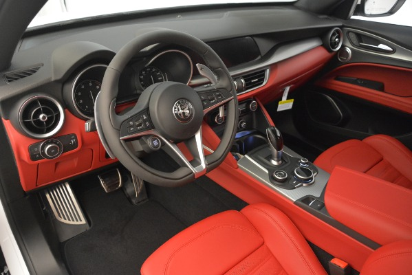 New 2019 Alfa Romeo Stelvio Ti Sport Q4 for sale Sold at Bugatti of Greenwich in Greenwich CT 06830 11