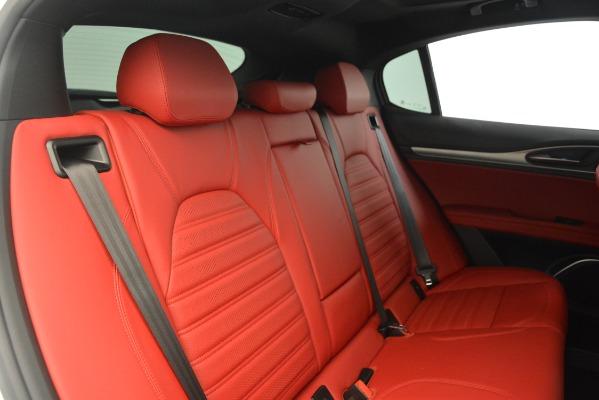 New 2019 Alfa Romeo Stelvio Ti Sport Q4 for sale Sold at Bugatti of Greenwich in Greenwich CT 06830 24