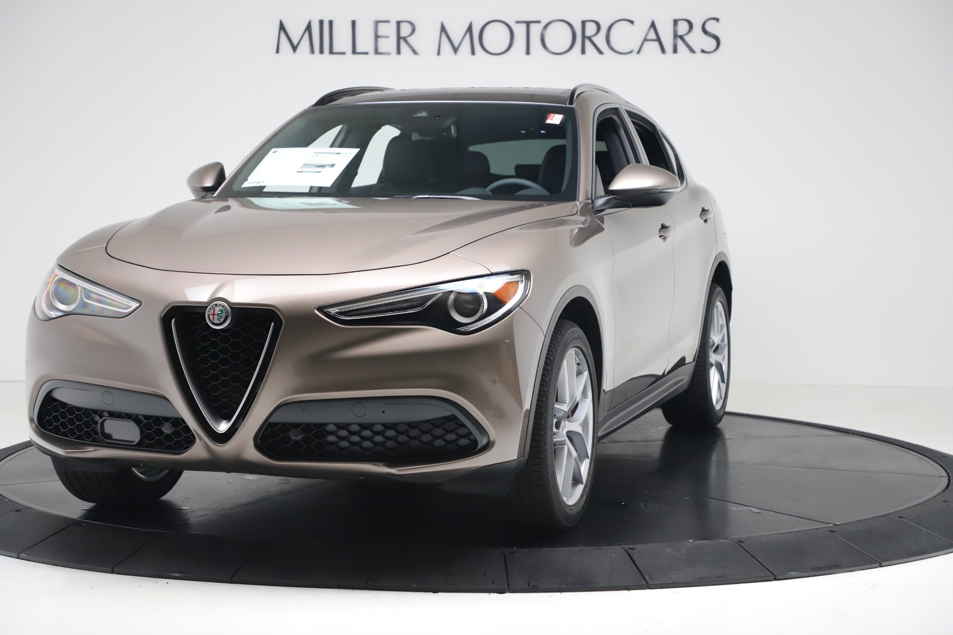 New 2019 Alfa Romeo Stelvio Ti Sport Q4 for sale Sold at Bugatti of Greenwich in Greenwich CT 06830 1
