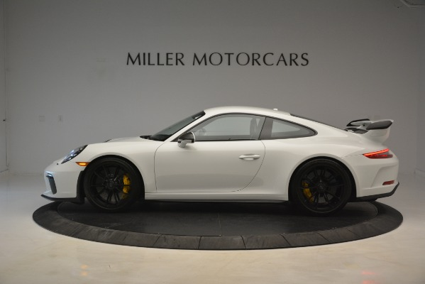 Used 2018 Porsche 911 GT3 for sale Sold at Bugatti of Greenwich in Greenwich CT 06830 2