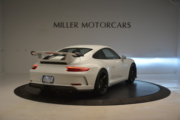 Used 2018 Porsche 911 GT3 for sale Sold at Bugatti of Greenwich in Greenwich CT 06830 6