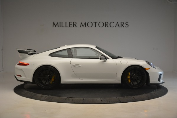 Used 2018 Porsche 911 GT3 for sale Sold at Bugatti of Greenwich in Greenwich CT 06830 7