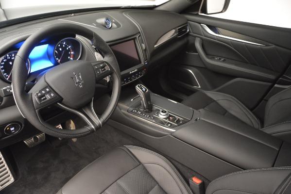 New 2019 Maserati Levante SQ4 GranSport Nerissimo for sale Sold at Bugatti of Greenwich in Greenwich CT 06830 13