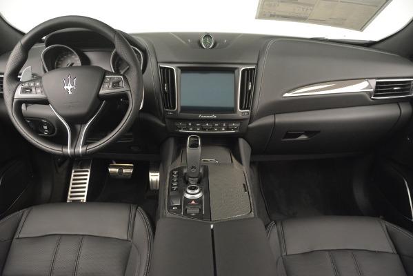 New 2019 Maserati Levante SQ4 GranSport Nerissimo for sale Sold at Bugatti of Greenwich in Greenwich CT 06830 16