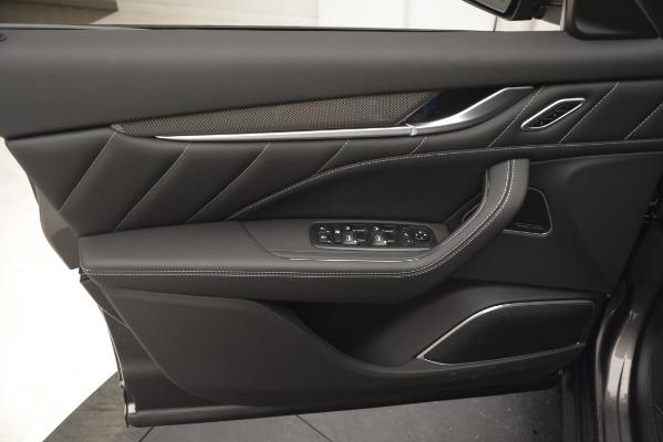 New 2019 Maserati Levante SQ4 GranSport Nerissimo for sale Sold at Bugatti of Greenwich in Greenwich CT 06830 17