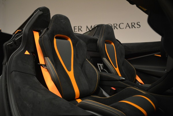 New 2020 McLaren 720S Spider for sale Sold at Bugatti of Greenwich in Greenwich CT 06830 22