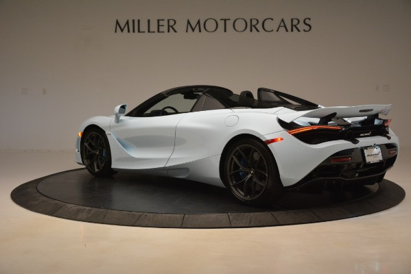 New 2020 McLaren 720S Spider for sale Sold at Bugatti of Greenwich in Greenwich CT 06830 3