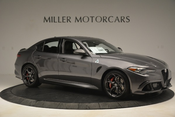 New 2019 Alfa Romeo Giulia Quadrifoglio for sale $79,340 at Bugatti of Greenwich in Greenwich CT 06830 10