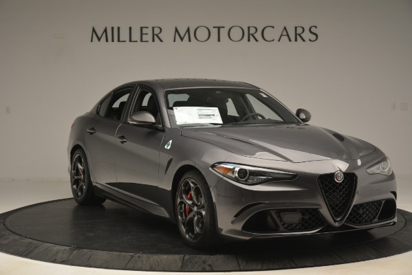 New 2019 Alfa Romeo Giulia Quadrifoglio for sale $79,340 at Bugatti of Greenwich in Greenwich CT 06830 11